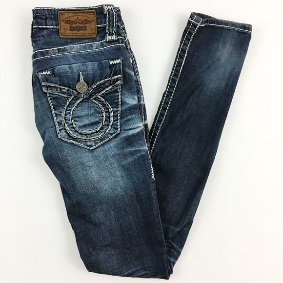 5d2b0deab48 Big Star Vintage Collection Janae Skinny Jeans 24L.  M_5b8d6648c9bf50478f2692d0